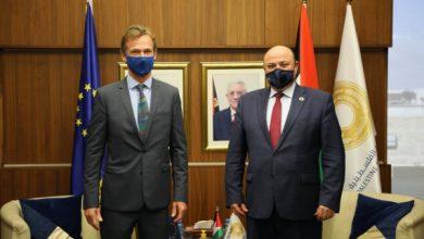 صورة محافظ سلطة النقد يلتقي بممثل الاتحاد الأوروبي في فلسطين